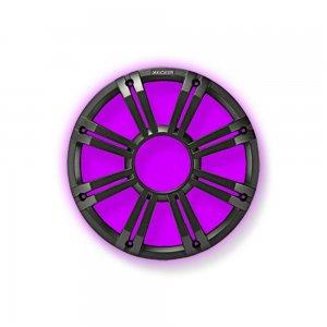 ΓΡΙΛΛΙΑ SUBWOOFER 10in-250mm KICKER LED ΑΝΘΡΑΚΙ