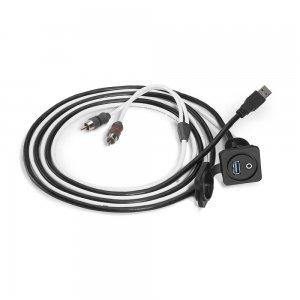 ΚΑΛΩΔΙΟ ΒΥΣΜΑ JL AUDIO JACK 3.5mm-USB-6ft-1.83m