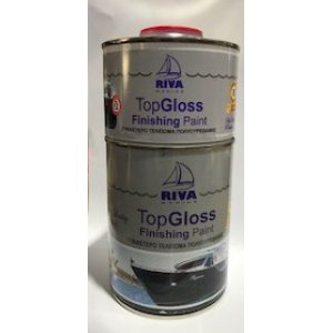 TOP GLOSS ΜΑΥΡΟ 1.125Lt (2 ΣΥΣΤΑΤΙΚΩΝ)