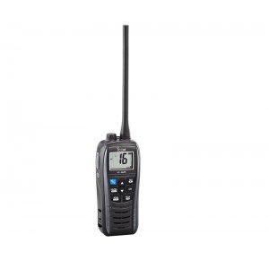 ΠΟΜΠΟΔΕΚΤΗΣ ΑΣΥΡΜΑΤΟΣ VHF IC-M25 EURO ΜΑΥΡΟΣ/ΓΚΡΙ